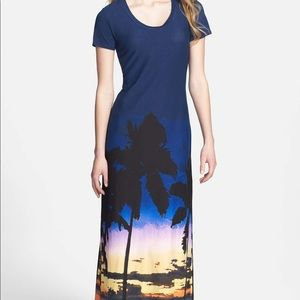 Tommy Bahama landscape maxi dress